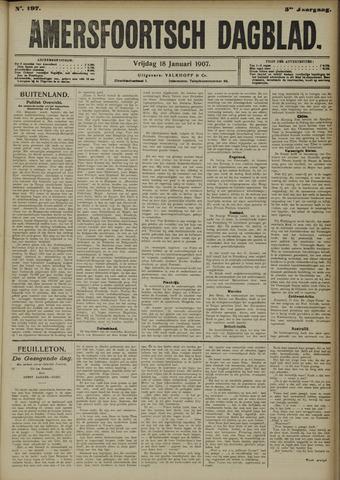 Amersfoortsch Dagblad 1907-01-18