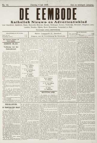 De Eembode 1907-07-06