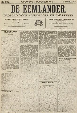 De Eemlander 1910-12-07