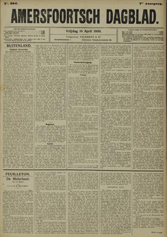 Amersfoortsch Dagblad 1909-04-16