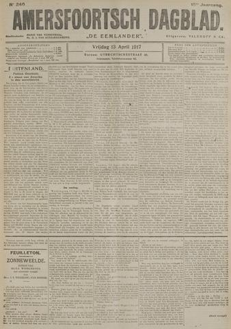 Amersfoortsch Dagblad / De Eemlander 1917-04-13