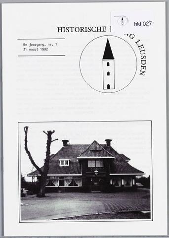 Historische Kring Leusden 1992-03-31