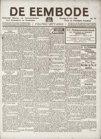 De Eembode 1928-10-02