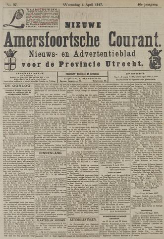 Nieuwe Amersfoortsche Courant 1917-04-04