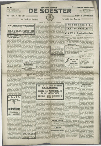 Soester Courant 1926-11-20
