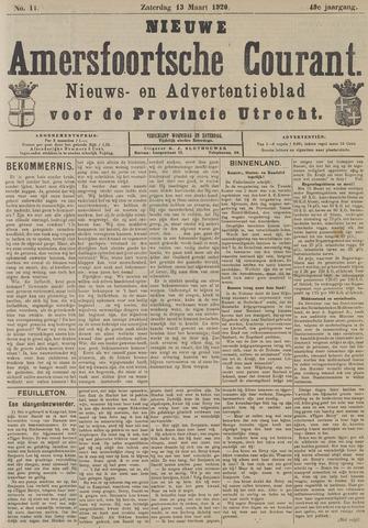 Nieuwe Amersfoortsche Courant 1920-03-13