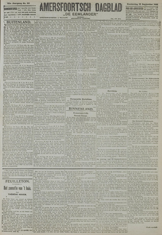 Amersfoortsch Dagblad / De Eemlander 1921-09-15
