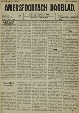 Amersfoortsch Dagblad 1909-01-30