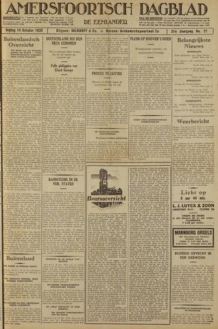 Amersfoortsch Dagblad / De Eemlander 1932-10-14
