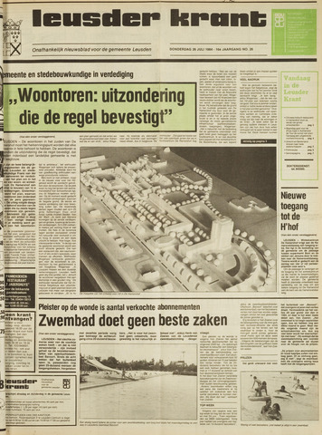 Leusder Krant 1984-07-26