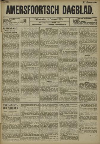 Amersfoortsch Dagblad 1905-02-15