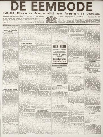 De Eembode 1914-12-24