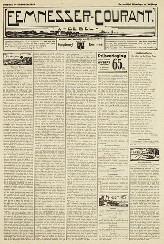 Eemnesser Courant 1924-10-14
