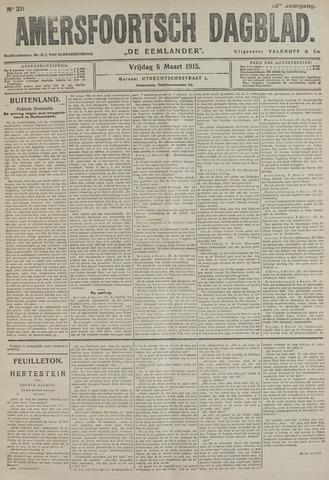 Amersfoortsch Dagblad / De Eemlander 1915-03-05