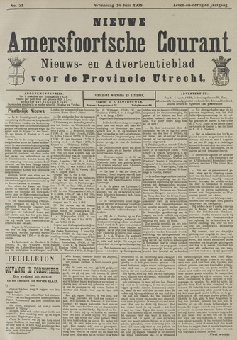 Nieuwe Amersfoortsche Courant 1908-06-24