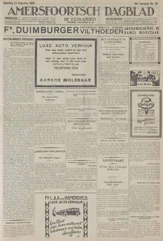 Amersfoortsch Dagblad / De Eemlander 1929-08-24