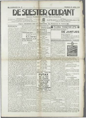 Soester Courant 1934-04-27