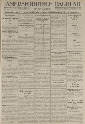 Amersfoortsch Dagblad / De Eemlander 1933-05-29