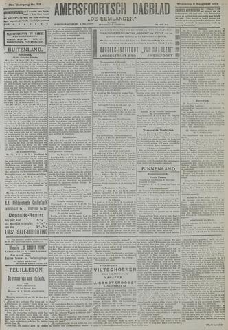 Amersfoortsch Dagblad / De Eemlander 1921-11-09