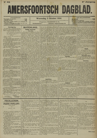 Amersfoortsch Dagblad 1904-10-05
