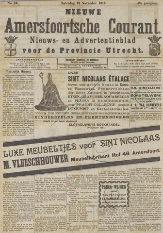 Nieuwe Amersfoortsche Courant 1919-11-29