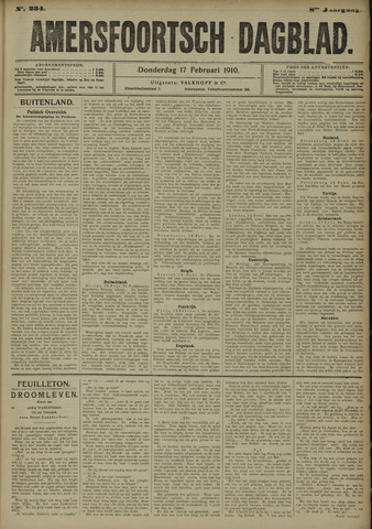 Amersfoortsch Dagblad 1910-02-17
