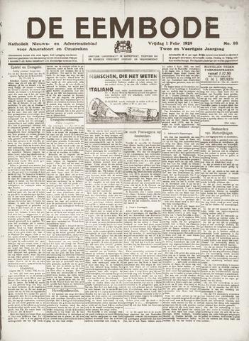 De Eembode 1929-02-01