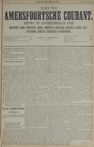 Nieuwe Amersfoortsche Courant 1884-01-23