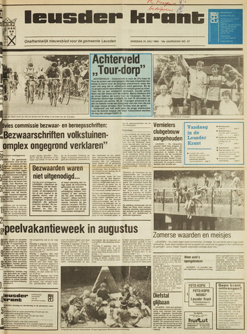 Leusder Krant 1984-07-31