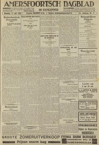 Amersfoortsch Dagblad / De Eemlander 1932-07-11