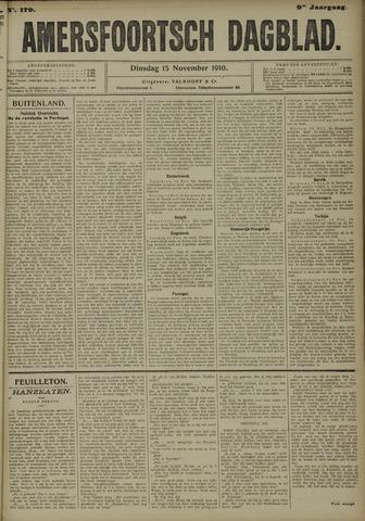 Amersfoortsch Dagblad 1910-11-15