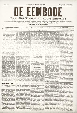 De Eembode 1895-11-02