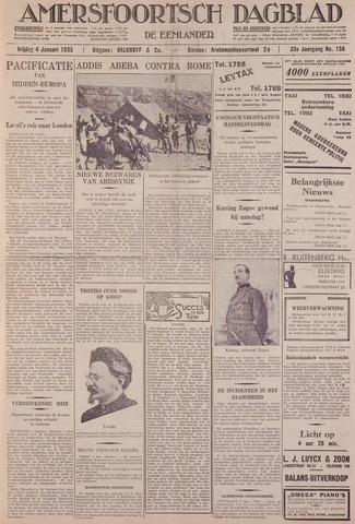 Amersfoortsch Dagblad / De Eemlander 1935-01-04