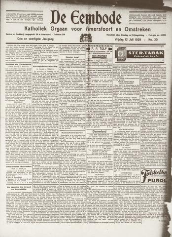 De Eembode 1929-07-12