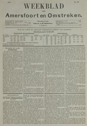 Weekblad voor Amersfoort en Omstreken 1878-06-01