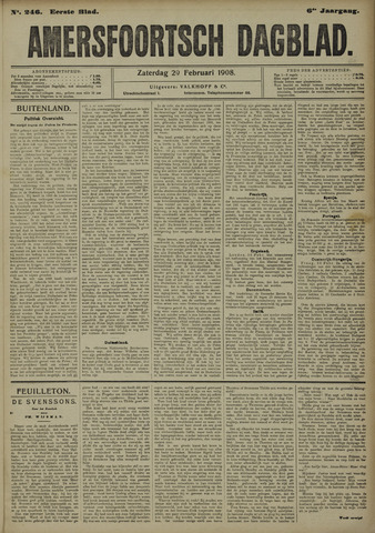 Amersfoortsch Dagblad 1908-02-29