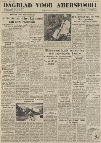 Dagblad voor Amersfoort 1949-02-11