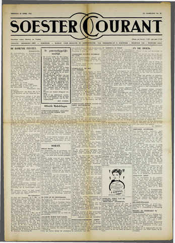 Soester Courant 1955-04-26