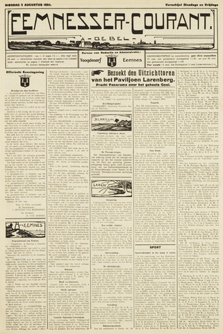 Eemnesser Courant 1924-08-05