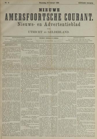 Nieuwe Amersfoortsche Courant 1889-02-20