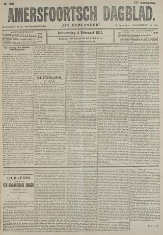 Amersfoortsch Dagblad / De Eemlander 1915-02-04