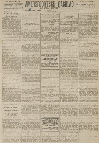 Amersfoortsch Dagblad / De Eemlander 1923-04-12