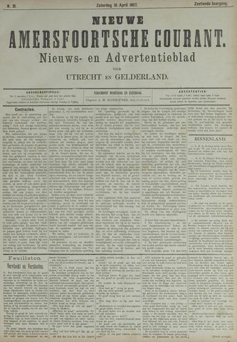 Nieuwe Amersfoortsche Courant 1887-04-16