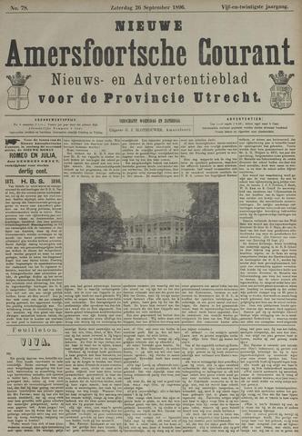 Nieuwe Amersfoortsche Courant 1896-09-26