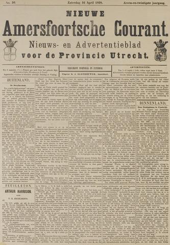 Nieuwe Amersfoortsche Courant 1898-04-16
