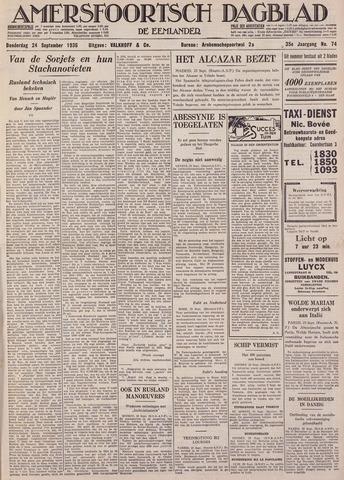 Amersfoortsch Dagblad / De Eemlander 1936-09-24
