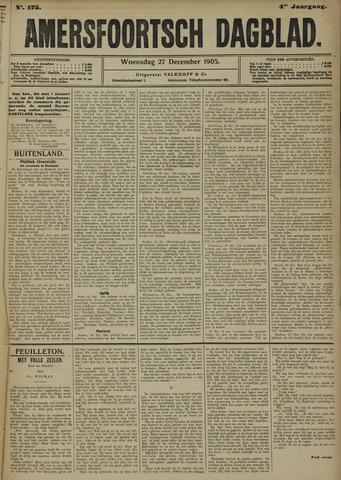 Amersfoortsch Dagblad 1905-12-27