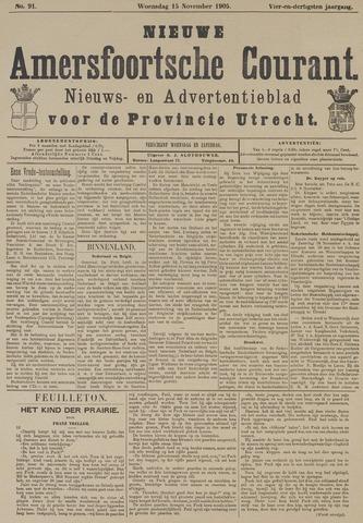 Nieuwe Amersfoortsche Courant 1905-11-15