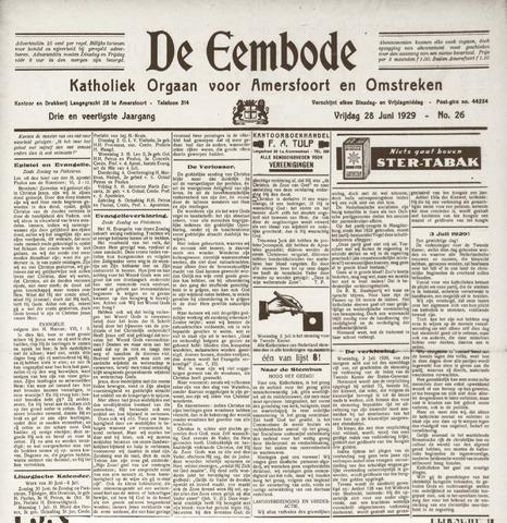 De Eembode 1929-06-28