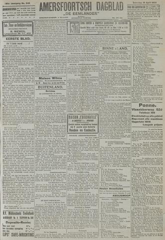Amersfoortsch Dagblad / De Eemlander 1922-04-15